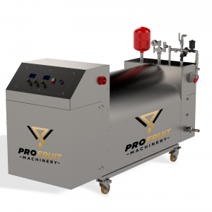 Pasteurizadores diéseles maquinaria de producción de jugo