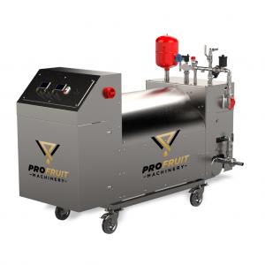 Pasteurizador de jugo para la producción de jugo
